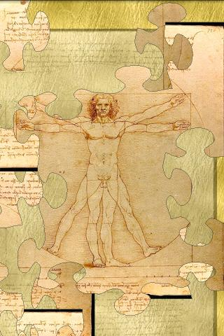 leonardo-da-vinci-puzzle for android screenshot