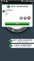 Screenshot of GPS Navigation Compass