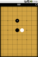 Screenshot of Gomoku online (BETA)