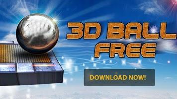 Screenshot of 3D BALL FREE