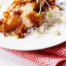 Chicken, Soy And Honey Parcels With Water Chestnut Rice