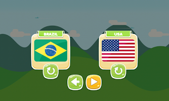 Screenshot of Sky Soccer Free Football Game