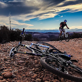 Quick Iphone Pic by Robert Aaronson - Novices Only Sports ( Bicycle, Sport, Transportation, Cycle, Bike, ResourceMagazine, Outdoors, Exercise, Two Wheels )