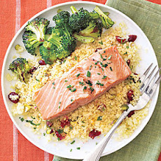Salmon and Couscous Packets