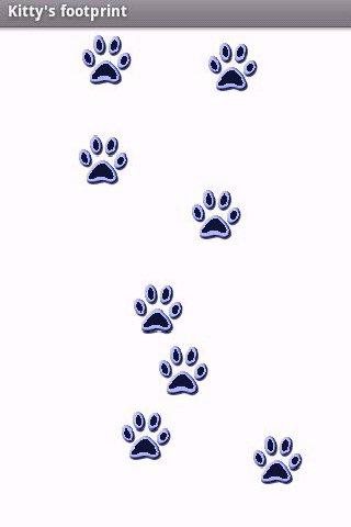Kitty's footprint
