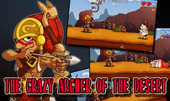 Screenshot of Apple & Crazy Archer