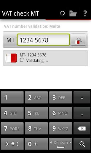 VAT check MT
