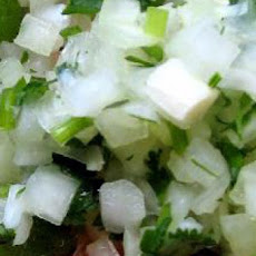 Celery and Cilantro Relish
