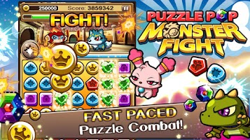 Screenshot of Puzzle Pop: Monster Fight BETA