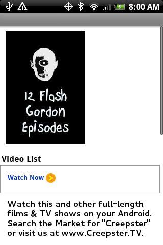 12 Flash Gordon Episodes