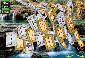Screenshot of Solitaire 3D (old)