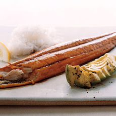Maple-Soy-Glazed Mackerel Fillets with Avocado
