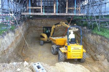 Groundwork underway in East Sussex