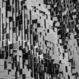 Eskenazi Parking Garage by Nicole Meisberger - Abstract Patterns