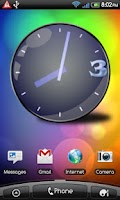 Screenshot of Custom Clock Widget Pro/Full