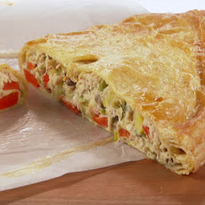 Chicken and Leek Cornish Turnover