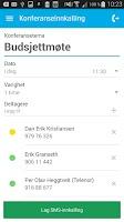 Screenshot of Mobilt Bedriftsnett