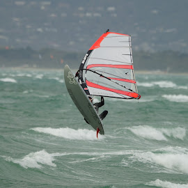 Taking Air by Jefferson Welsh - Sports & Fitness Watersports