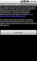 Screenshot of Taxi registracia Bratislava