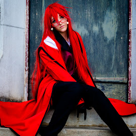 Grell Sutcliff - Cosplay by Esther Visser - People Musicians & Entertainers