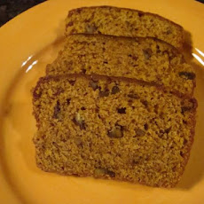Holiday Pumpkin Nut Bread