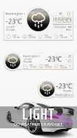 Screenshot of S LIGHT THEME GO WEATHER EX