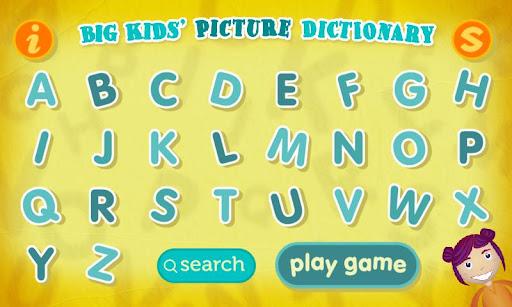 下載玩新版教育遊戲Big Kids' Picture Dictionary APP!推薦高CP值教育平台