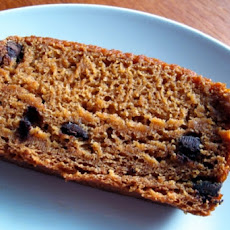 Harvest Moon Yeast Risen Chocolate Chip Pumpkin Bread