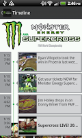 Screenshot of Monster Energy Supercross