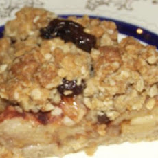 Oatmeal Cookie Apple Pie