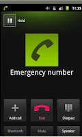 Screenshot of an Emergency Button