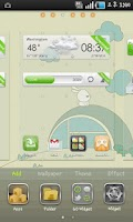 Screenshot of (FREE) White Rabbit GO Theme