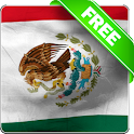 Mexico flag free livewallpaper