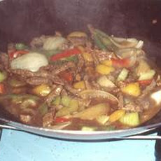 Beef Curry Stir-Fry