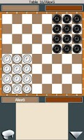 Screenshot of Checkers and Corners online