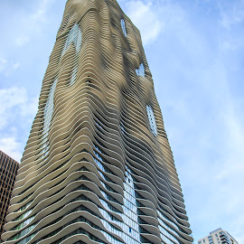 Waves by Dustin Bristol - Buildings & Architecture Architectural Detail ( buildings, chicago )