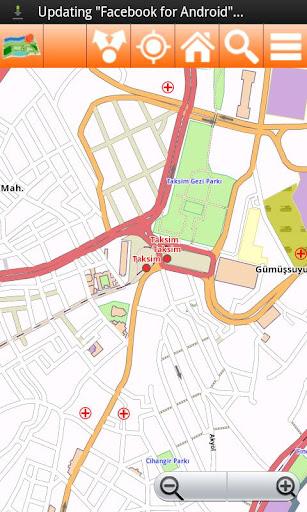 Istanbul Offline mappa Map