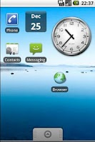 Screenshot of Date Widget Free