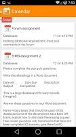 Screenshot of MDroid - Moodle mobile app