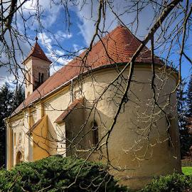 St. Peter's Church by Laci Erdős - Buildings & Architecture Places of Worship ( church, autumn, colours )
