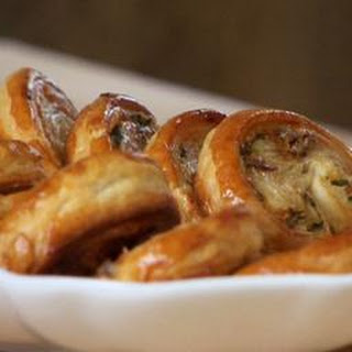 Sage And Parmesan Palmiers