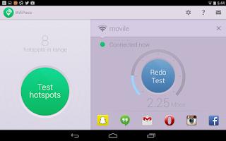 Screenshot of WifiPass - Free internet