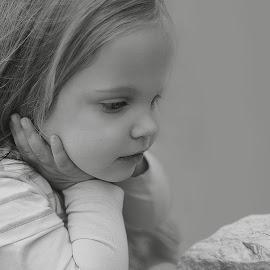 Watching a snail by Lucia STA - Babies & Children Children Candids