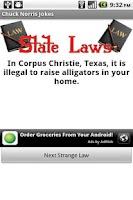 Screenshot of Strange Laws