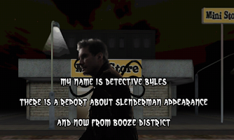 Screenshot of Slender in Booze District