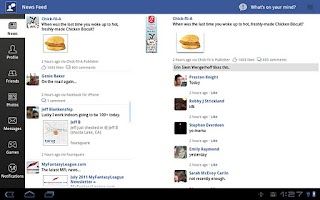 Screenshot of Social Me for Facebook
