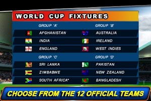 Screenshot of T20 ICC Cricket WorldCup 2012