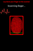 Screenshot of Real Fingerprint Mood Scanner