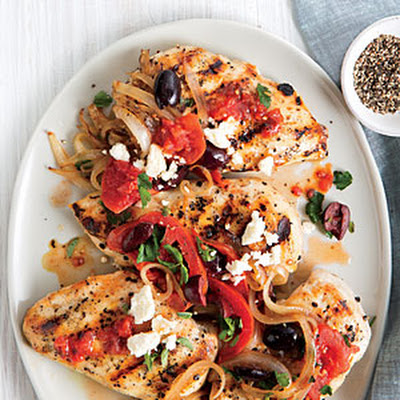 Greek-Style Chicken Breasts
