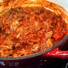 THE BLONDE ITALIAN BOLOGNESE SAUCE